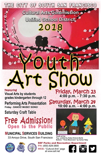 2018 Youth Art Show Poster