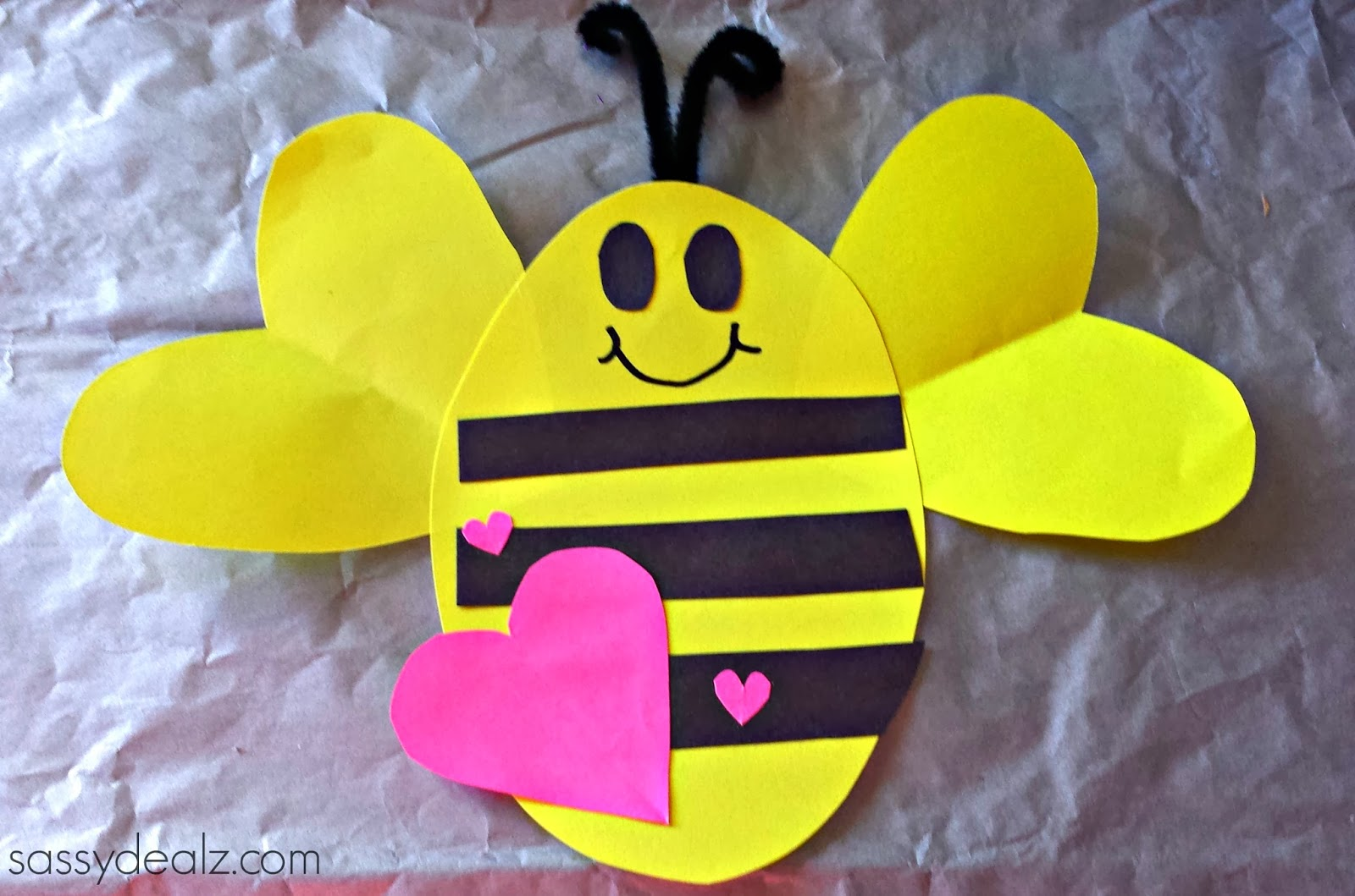 bee-mine-valentine-craft
