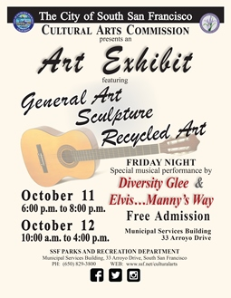 SSF 2019 General & Recycled Art Show -Flyer