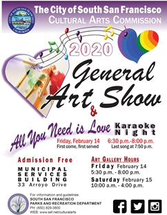 SSF 2020 General Art Show & Karaoke Nite FLYER