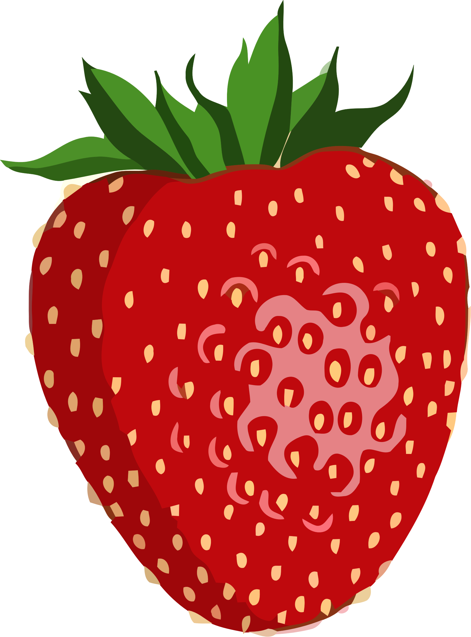 shiny-strawberry-vector-graphic