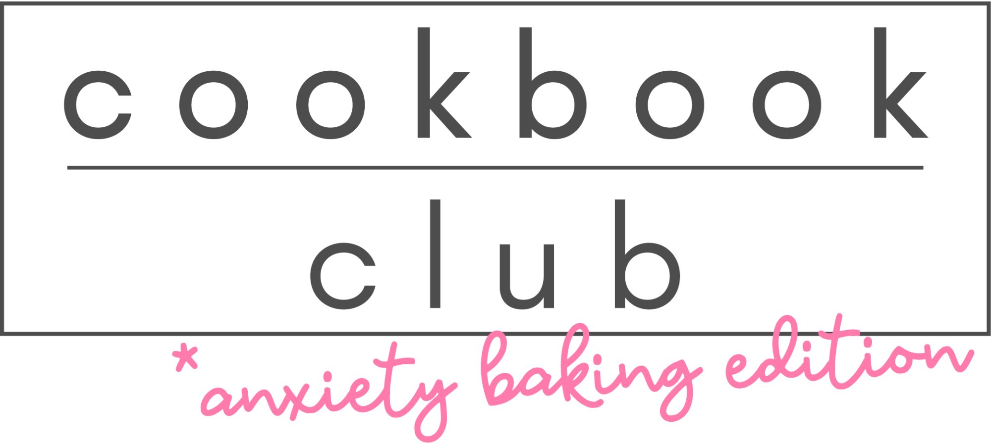 cookbook club logo pink