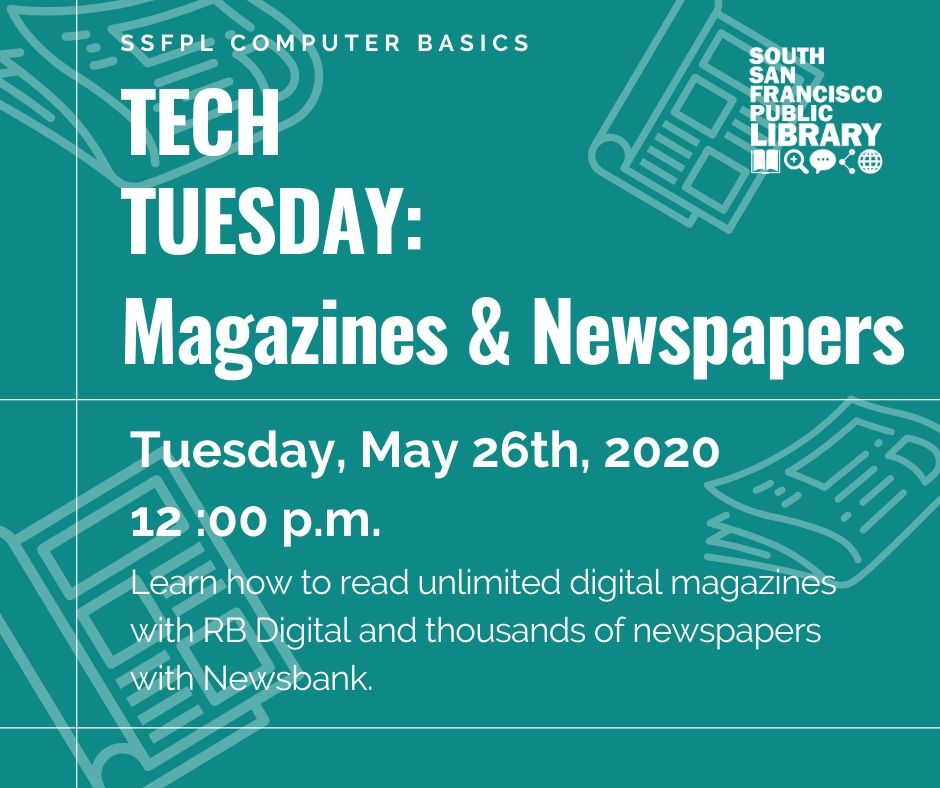A Tech Tuesday Magazines